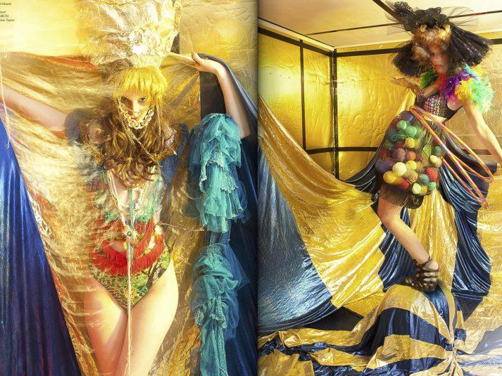 Fantastique haute magazine san diego
