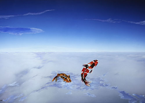 Flying Nishikigoi