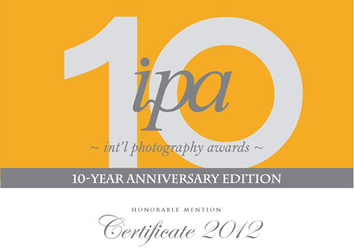 ipa int`l photography awards Honorable Mention