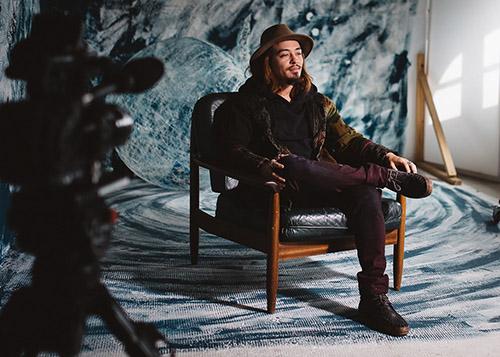 Ein Interview mit dem Künstler Jun Kim und Schöfferhofer Weizen